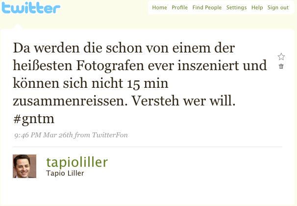 Topmodel-Tweet Original